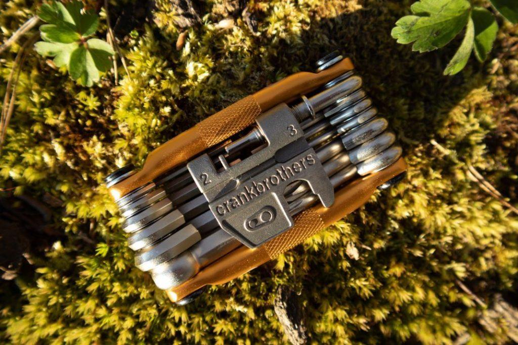Crankbrothers M19 Test von oben