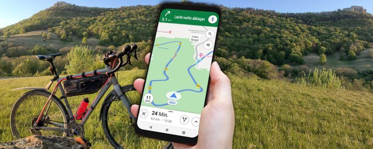 google maps for bike bicycle