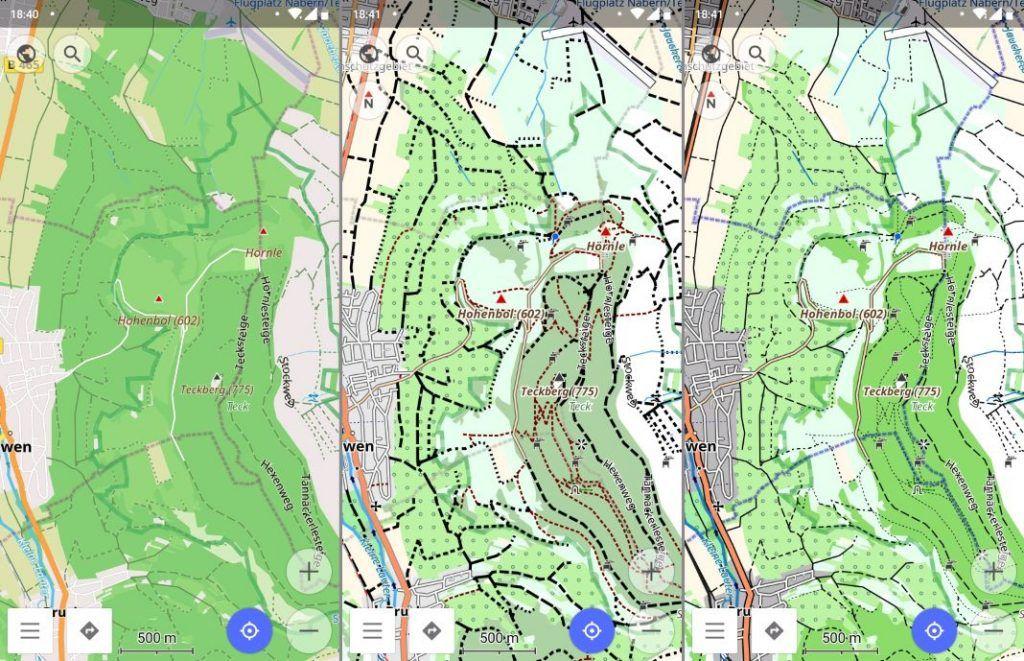 OsmAnd Maps Offroad Topo