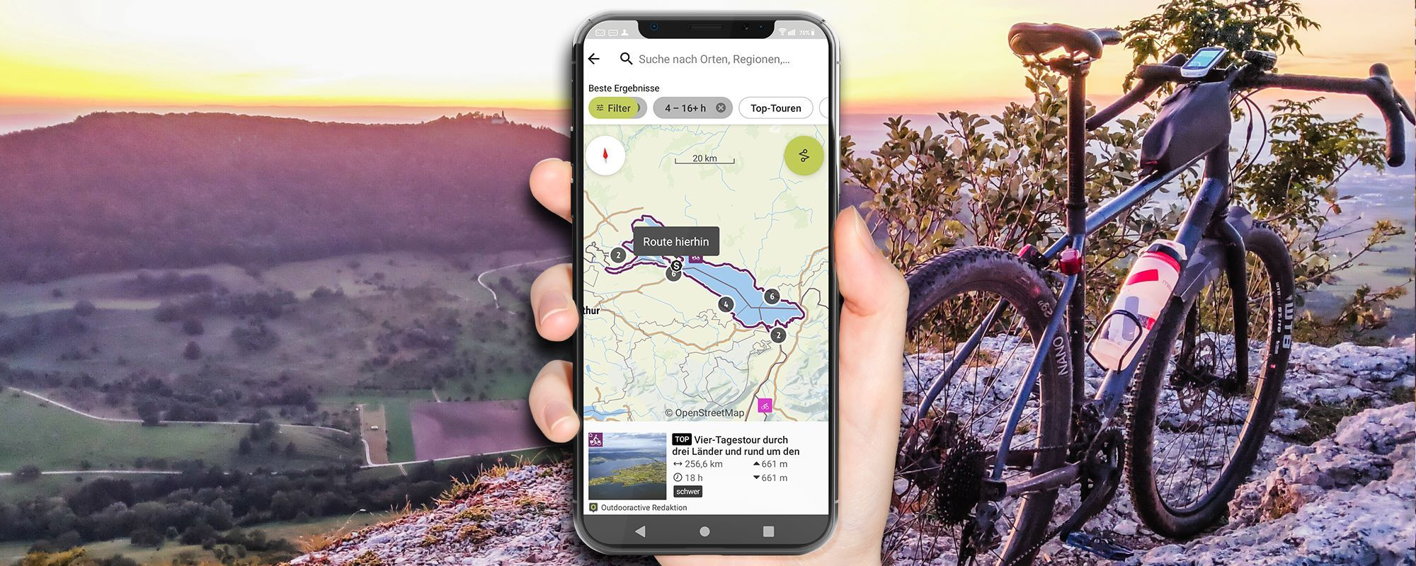 Outdooractive App und Tourenplaner-Portal im Praxistest