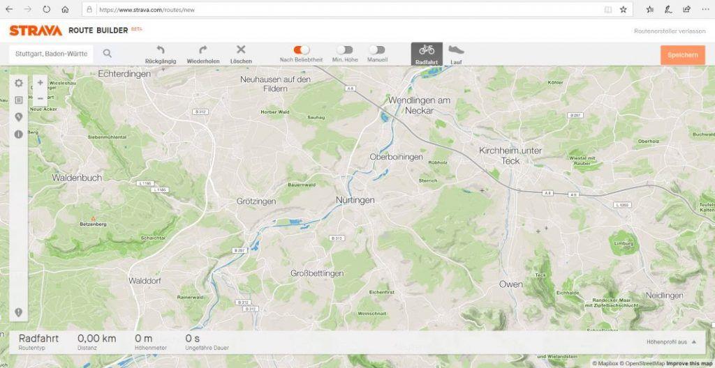 Strava Routenplaner Erfahrungen Neue Route
