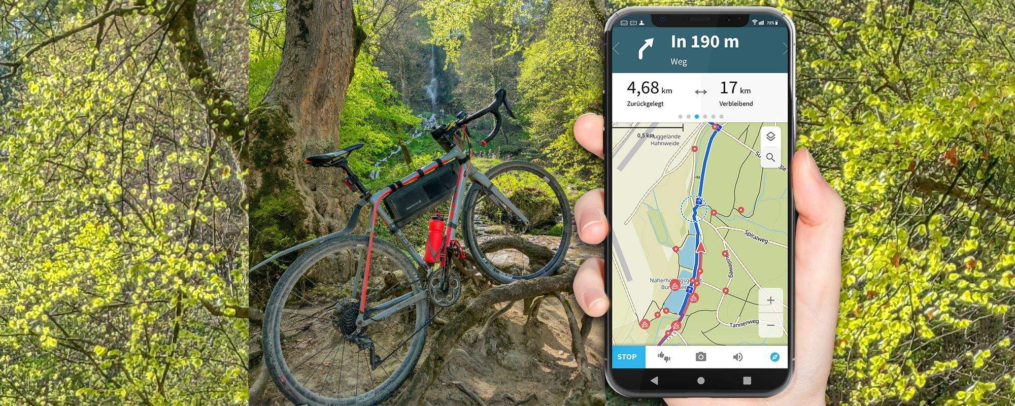 komoot Test - Navi App and Route Planner in a detailed practical test (Complete Guide)