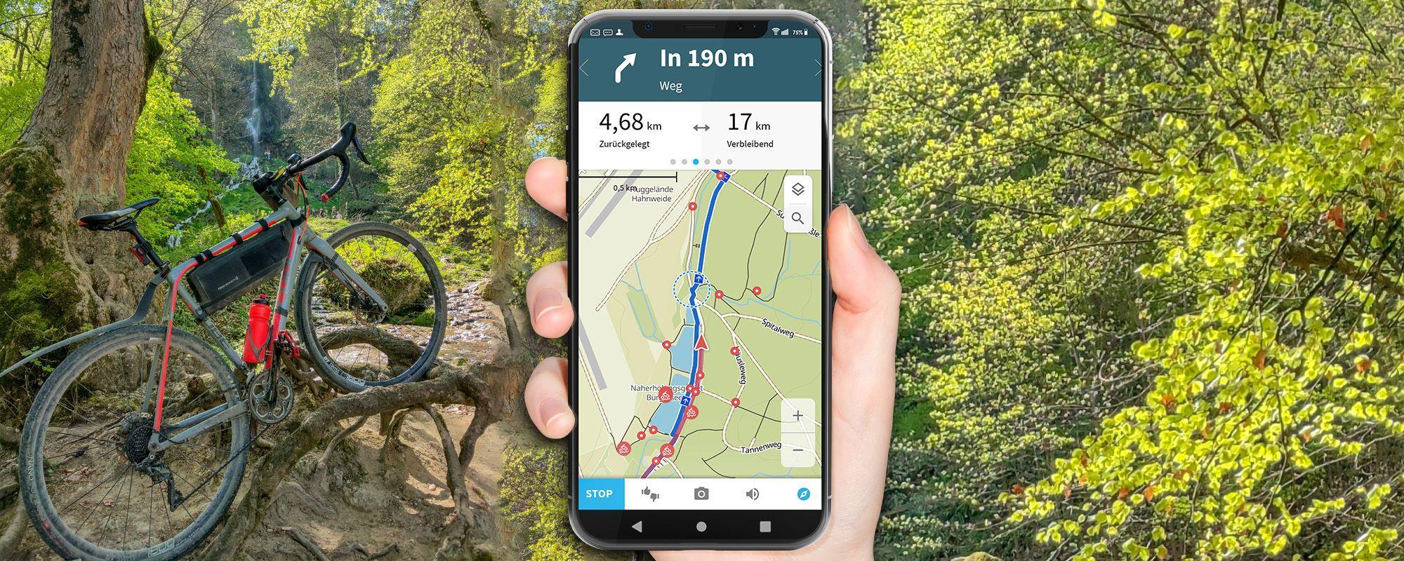 komoot Test - Navi App und Routenplaner im ausführlichen Praxistest (Vollständige Anleitung)