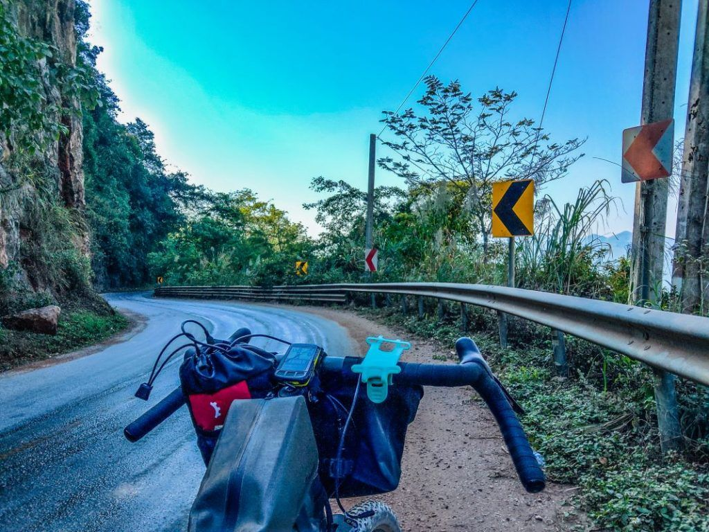 Bombtrack Beyond Vang Vieng to Luang Prabang