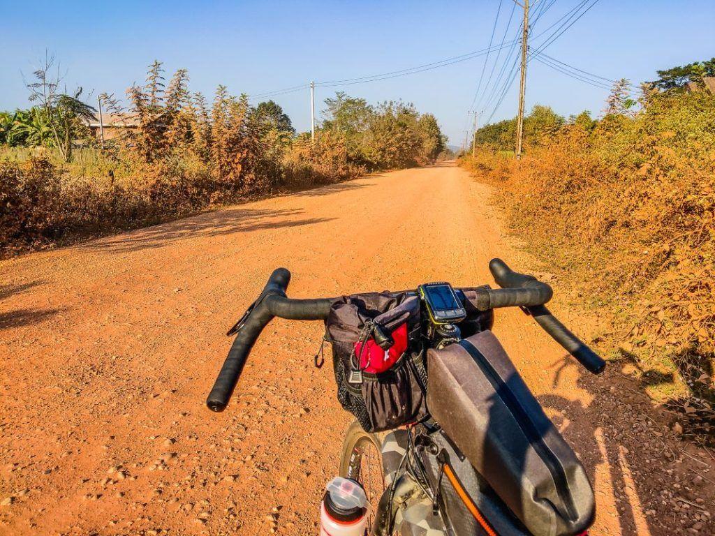 Gravel Bike Tour Laos Way Vientiane to Vang Vieng
