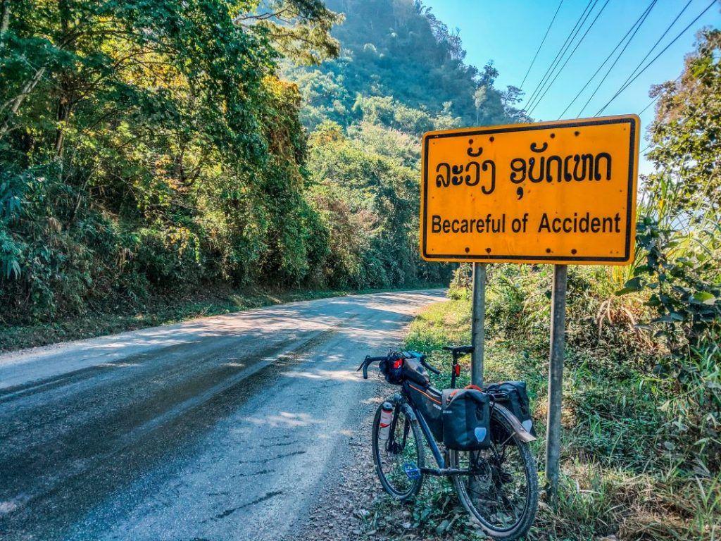Laos Bike Tour Vang Vieng to Luang Prabang Bike