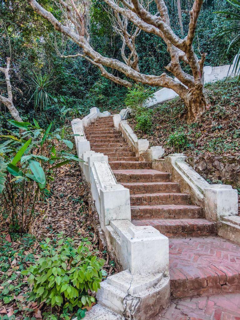 Luang Prabang Mount Phousi Stairs