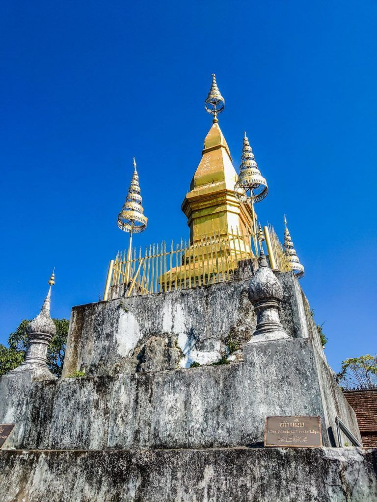 Luang Prabang Sights Mount Phousi