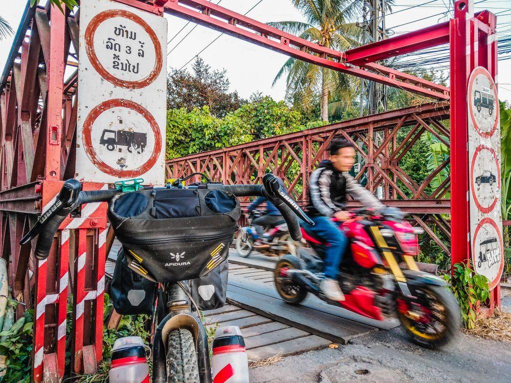 Luang Prabang City Bridge Bombtrack Beyond