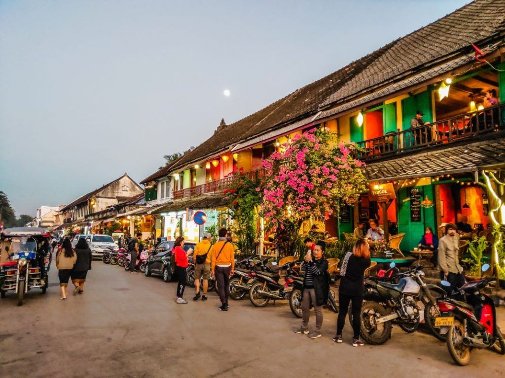 Luang Prabang City Colonialism 2