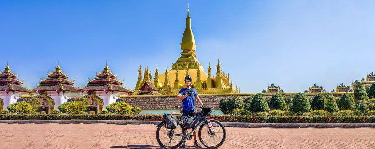 laos bicycle tour