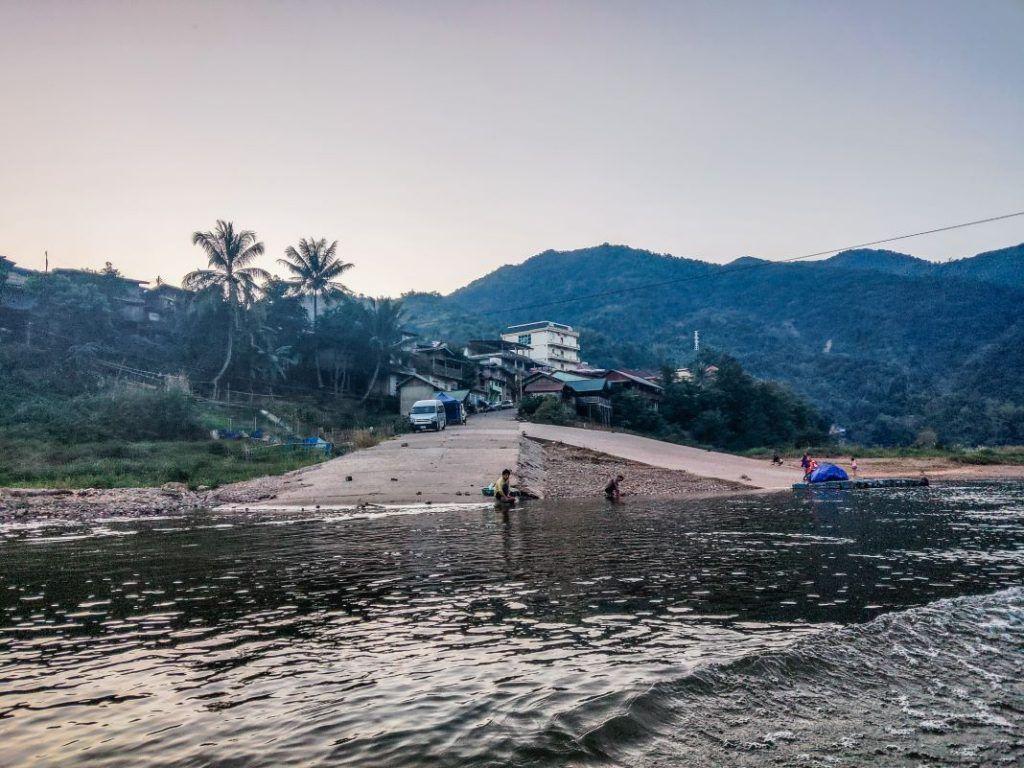 Laos boat trip Nam Ou Muang Khua
