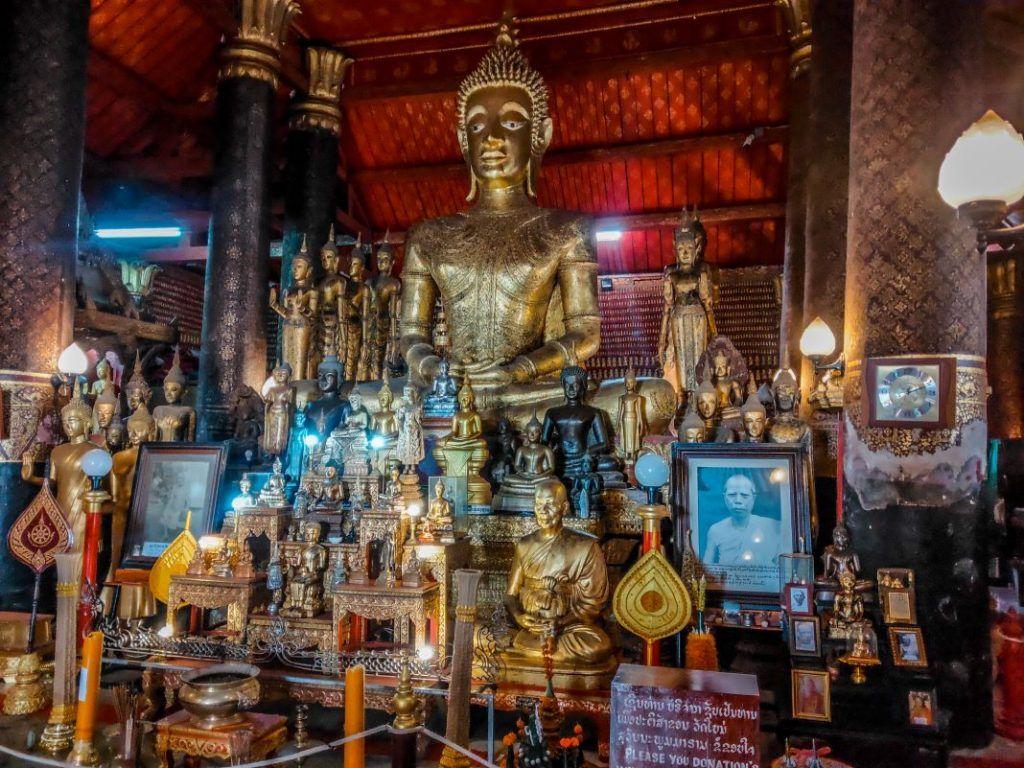 Laos Buddha Statue