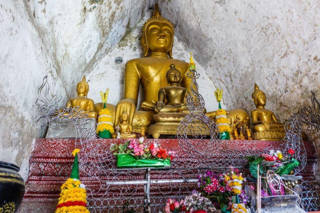 Laos Buddhism Statue