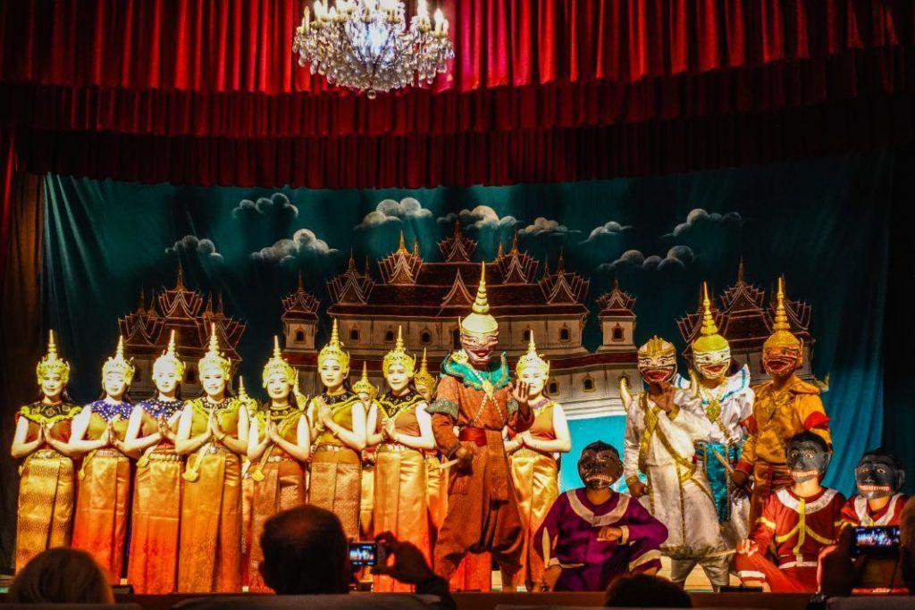 Laos Culture Luang Prabang Sights Theater