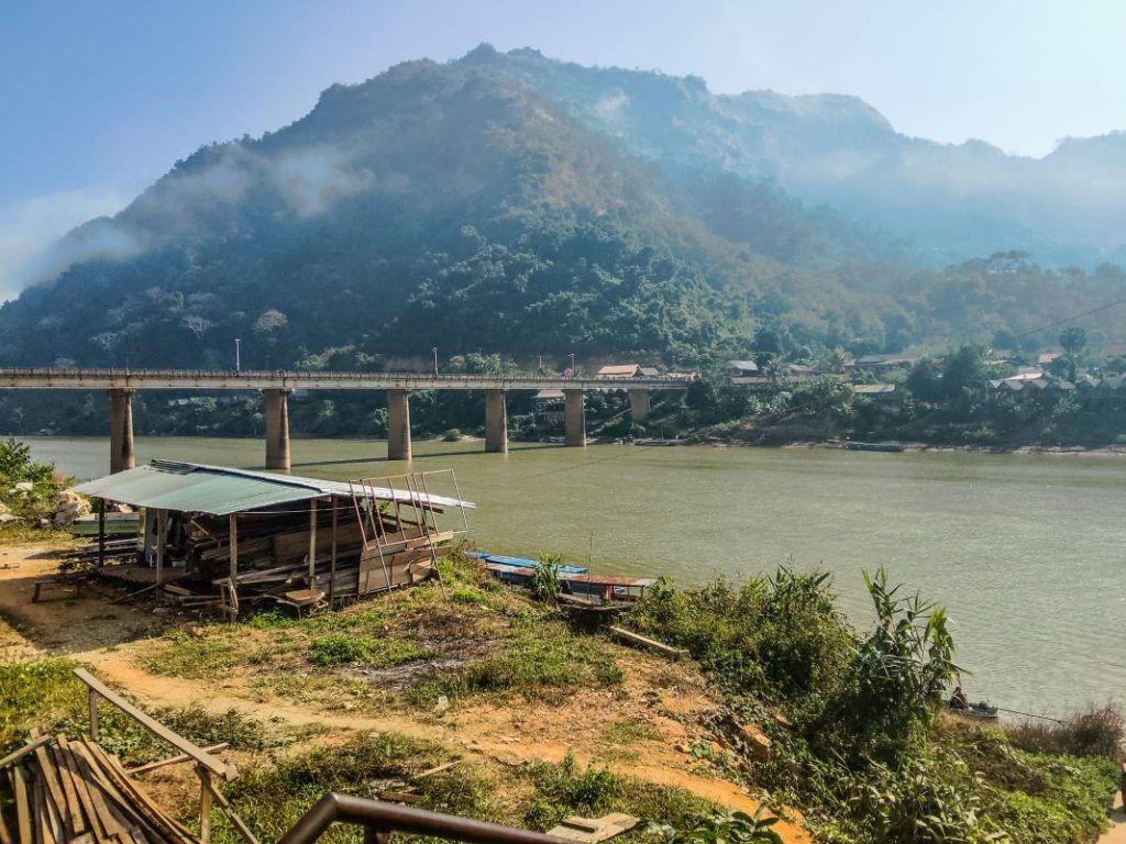 Laos landscape Nong Khiaw