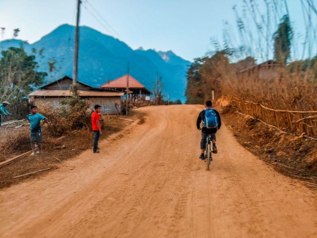 Laos Bike Tour Muang Khua