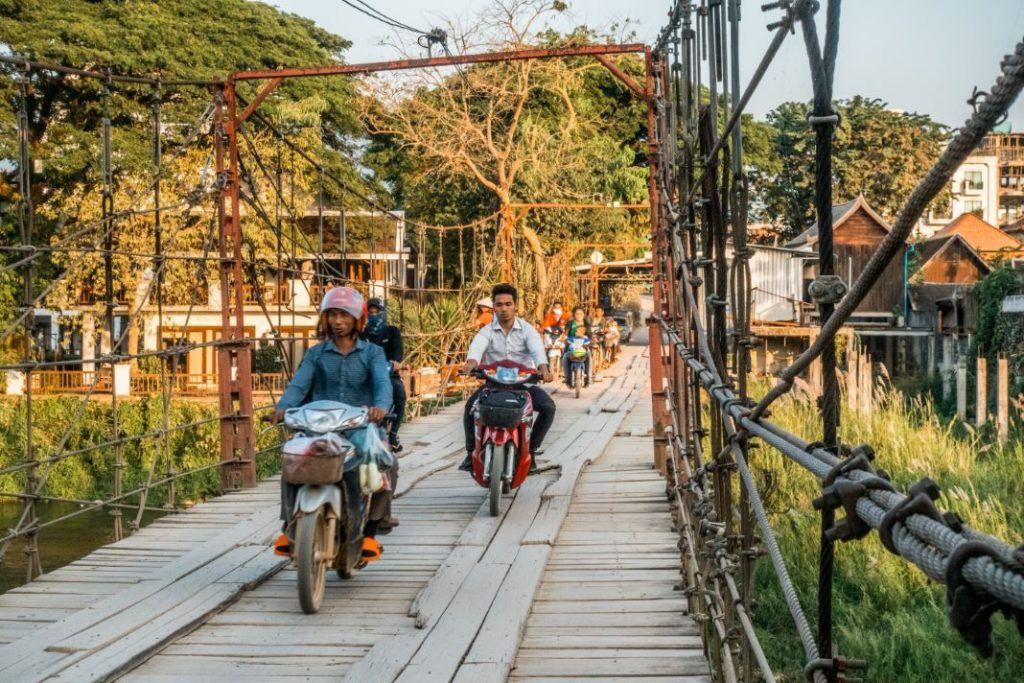 Laos Travel Tips Vang Vieng Bridge