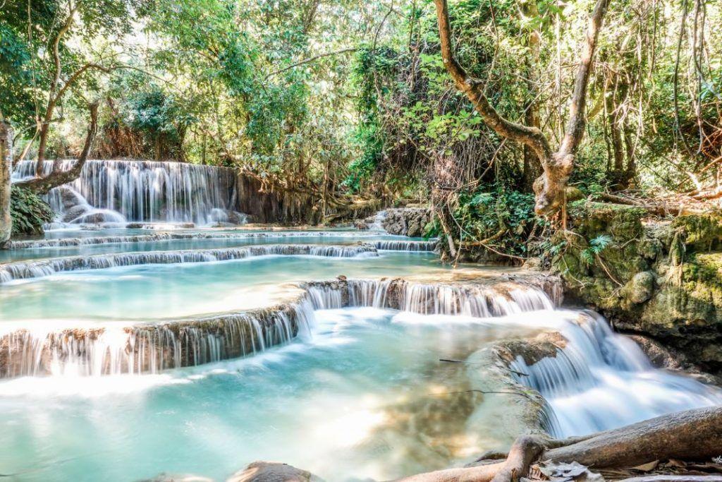 Luang Prabang Waterfall Vang Vieng Kaeng Nyui Basin