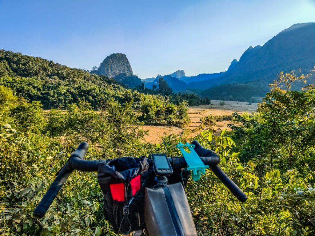 Muang Ngoy Laos landscape Laos travelogue