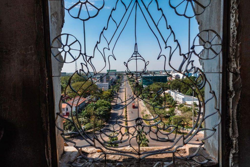 Patuxai Vientiane Sightseeing View