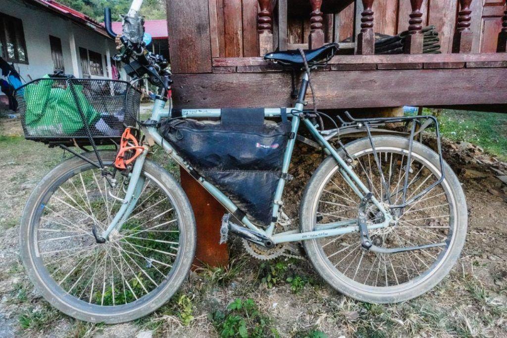 Surly Bicycle Laos Bike Tour Route Luang Prabang