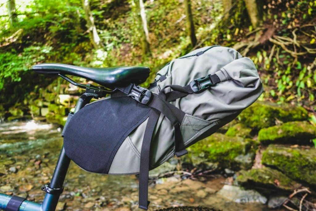 Topeak Backloader 15L Satteltasche Bikepacking Test