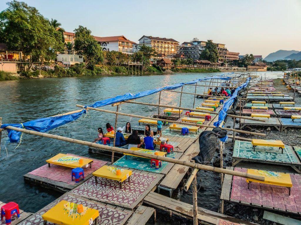 Vang Vieng Nam Ou River