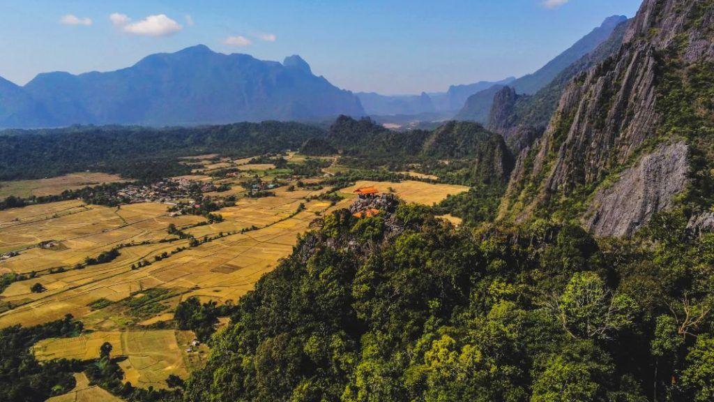 Vang Vieng Sights Viewpoint House