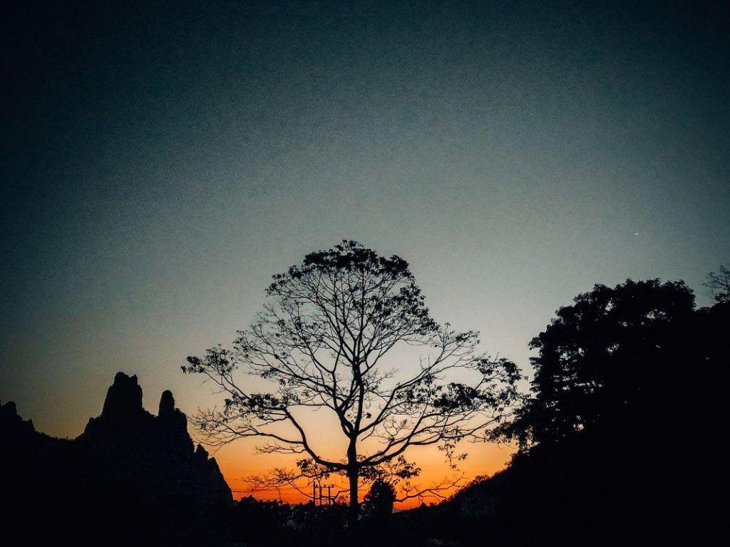 Vang Vieng to Luang Praband sunset