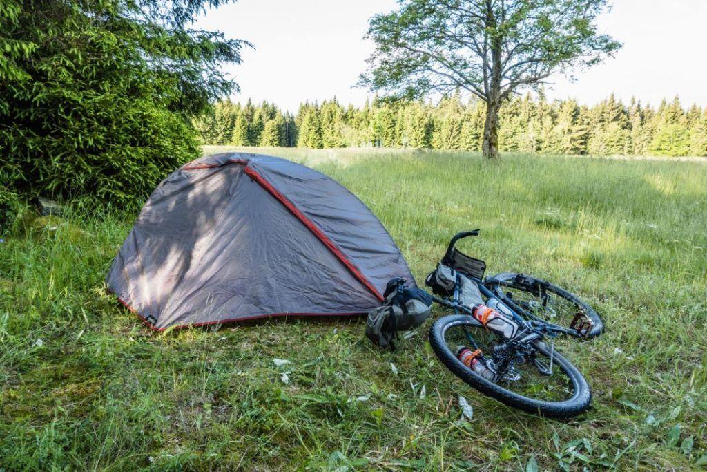 Bikepacking Zelt Decathlon Trekking Zelt Test
