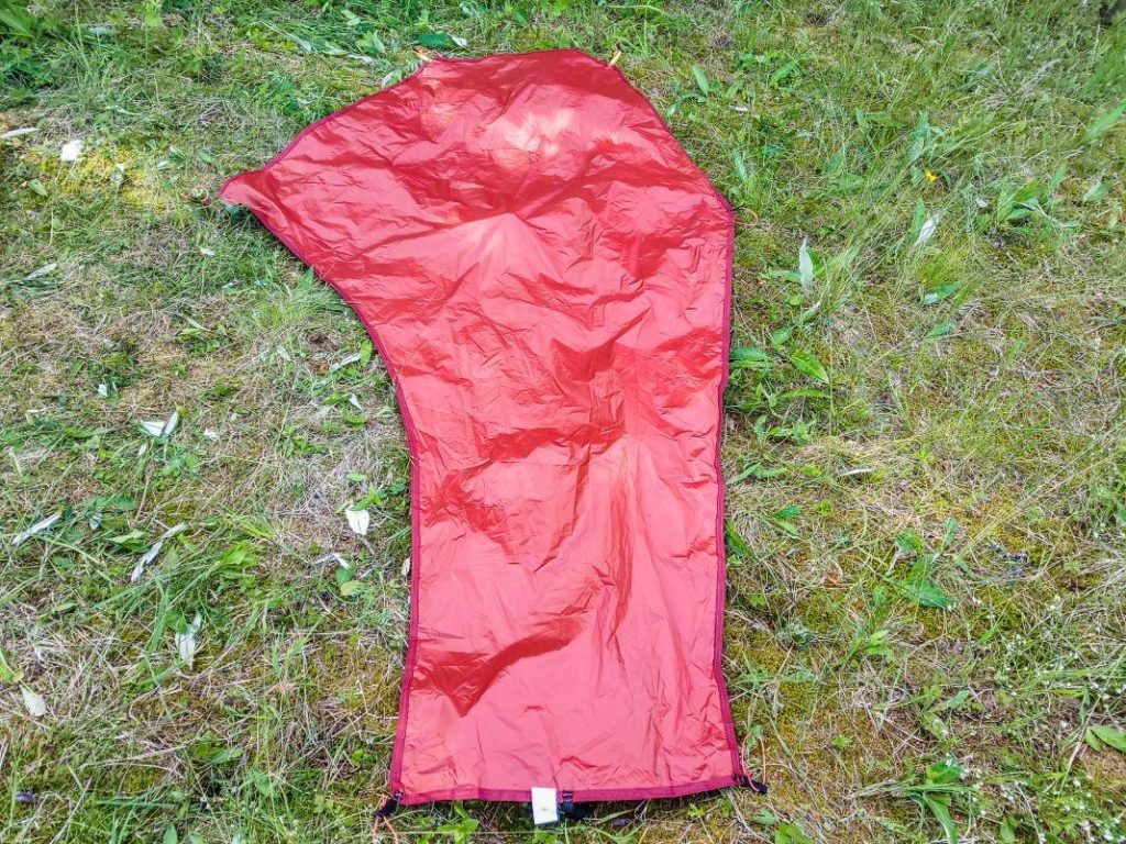 Bodenplane Forclaz Trek 900 Zelt