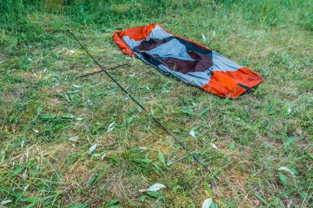 Forclaz Trek 900 Test Ultralight Zelt aufbauen