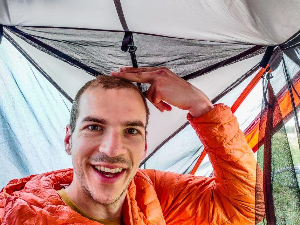 Forclaz Trek 900 Trekkingzelt 1 Person Platz