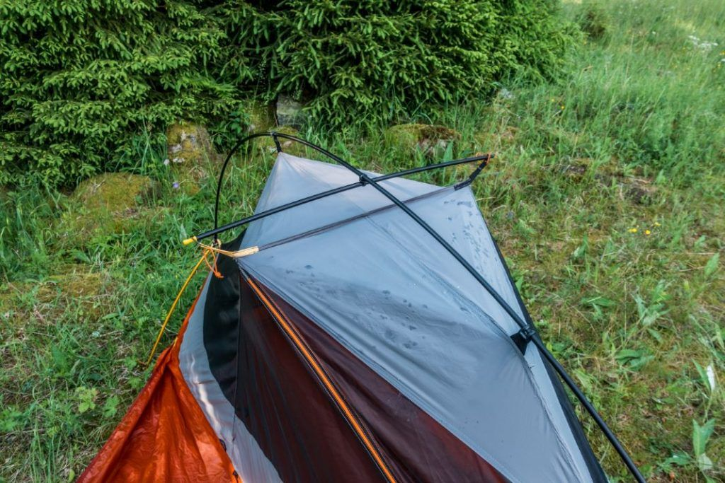 Forclaz Trek 900 Ultralight Zelt aufbauen