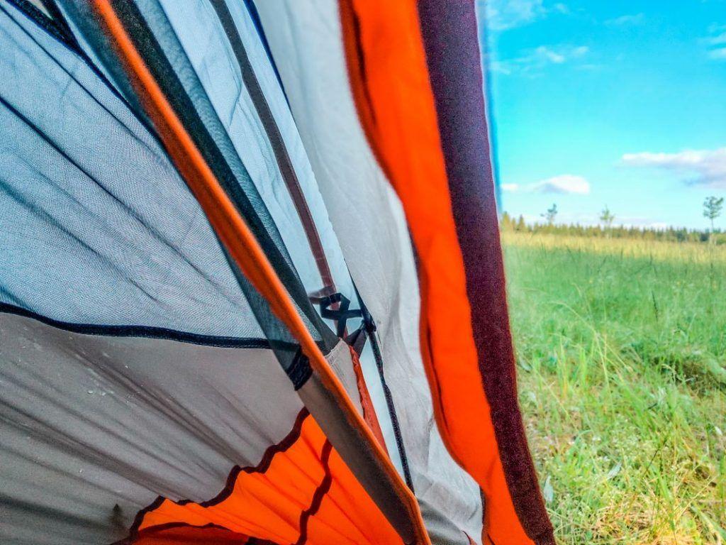 Forclaz Trek 900 Zelt Radreise Innenzelt Aussenzelt