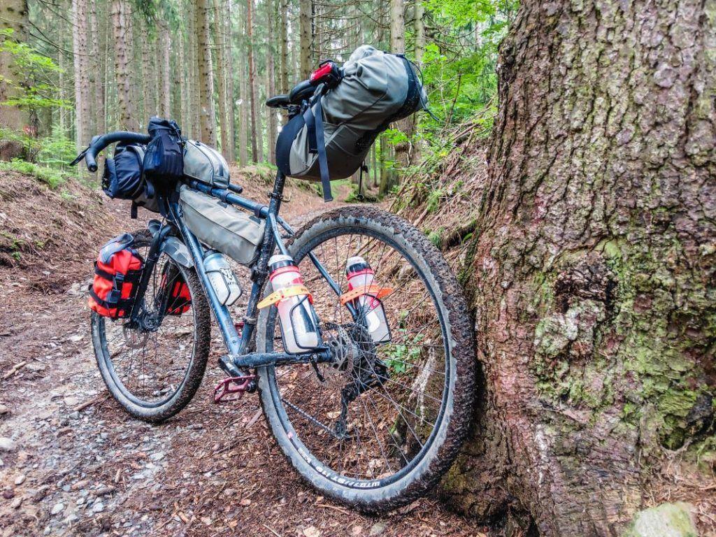 Topeak Bikepacking Taschen Test Erfahrungen Gelände