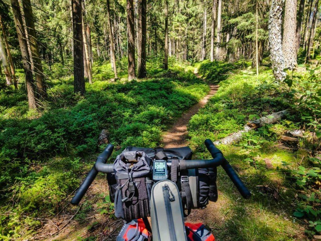 Topeak Bikepacking Taschen Test Erfahrungen Trail