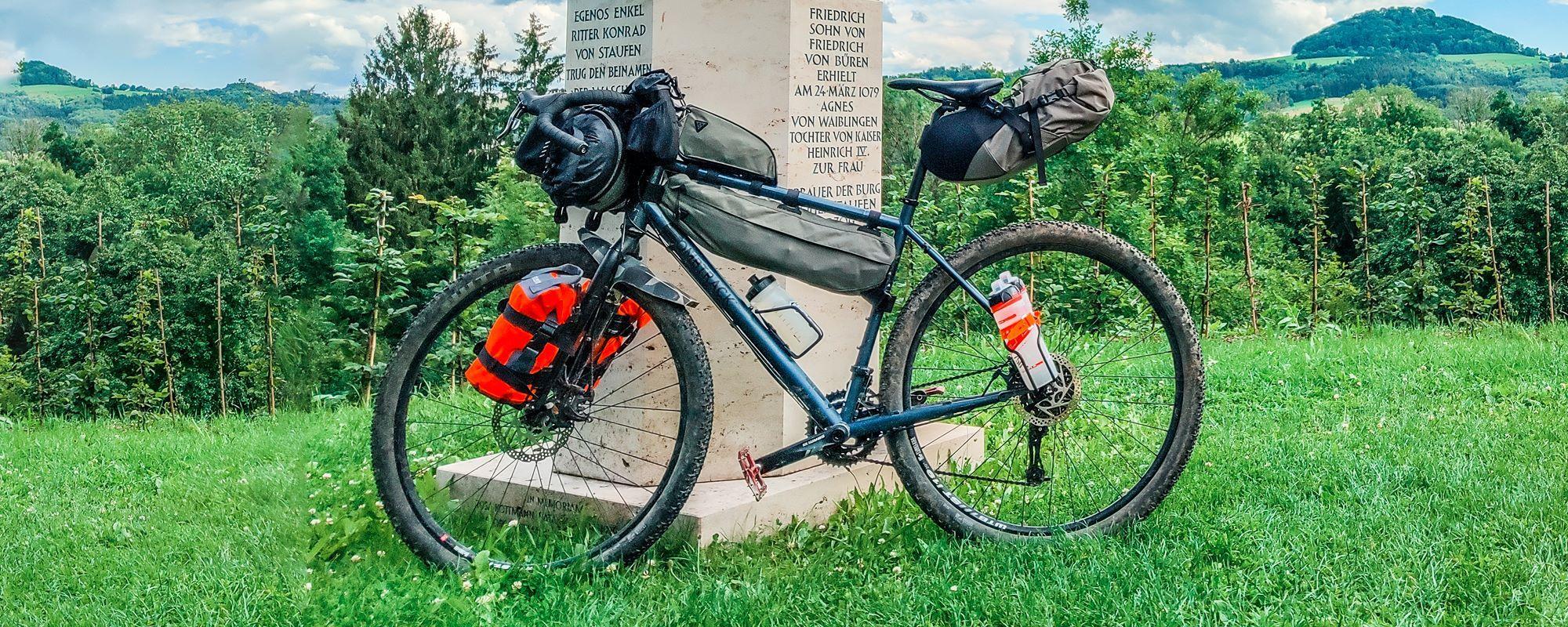 Topeak Bikepacking Taschen im ausführlichen Test - Einmal quer durch Deutschland auf Schotter und Trails