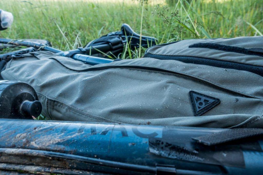Topeak Bikepacking Test Rahmentasche Wasserdicht