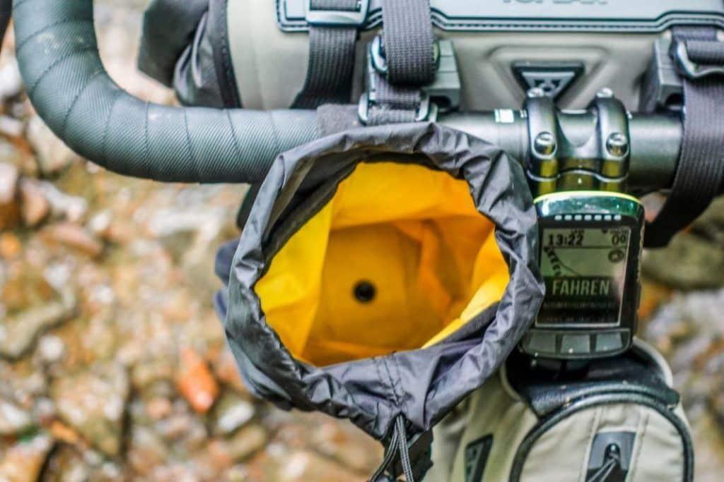 Topeak Freeloader Vorbautasche Lenkertasche Bikepacking Taschen Test