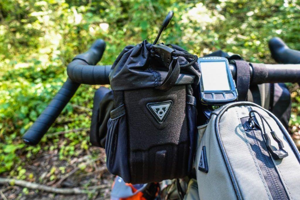 Topeak Freeloader Vorbautasche Lenkertasche Bikepacking Test
