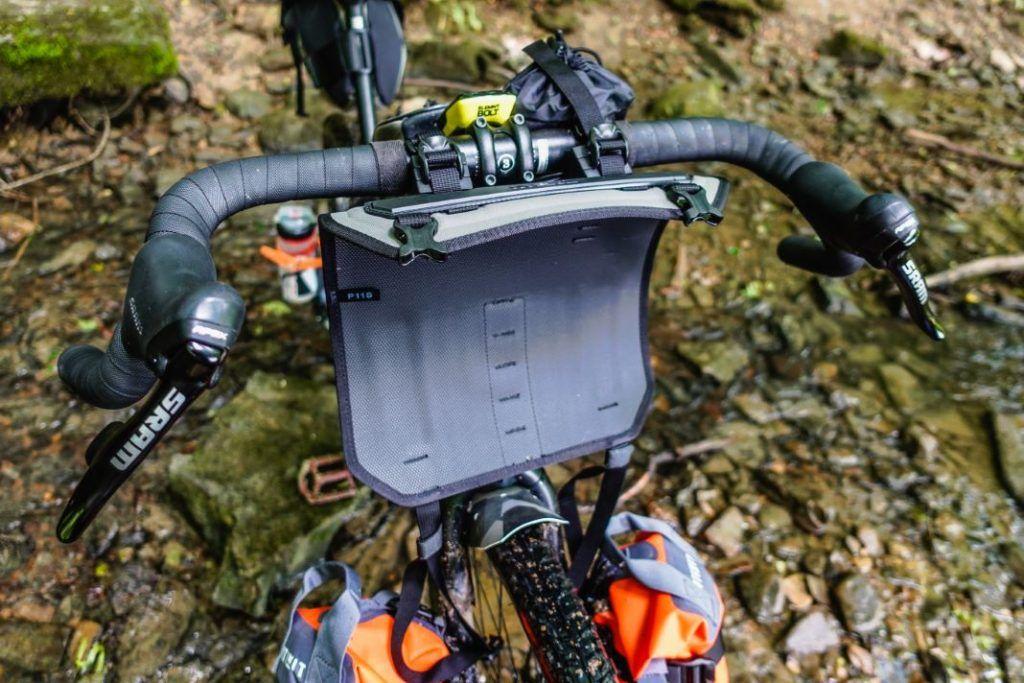 Topeak Frontloader Lenkertasche Lenkerrolle Fahrrad Bikepacking Test Harness
