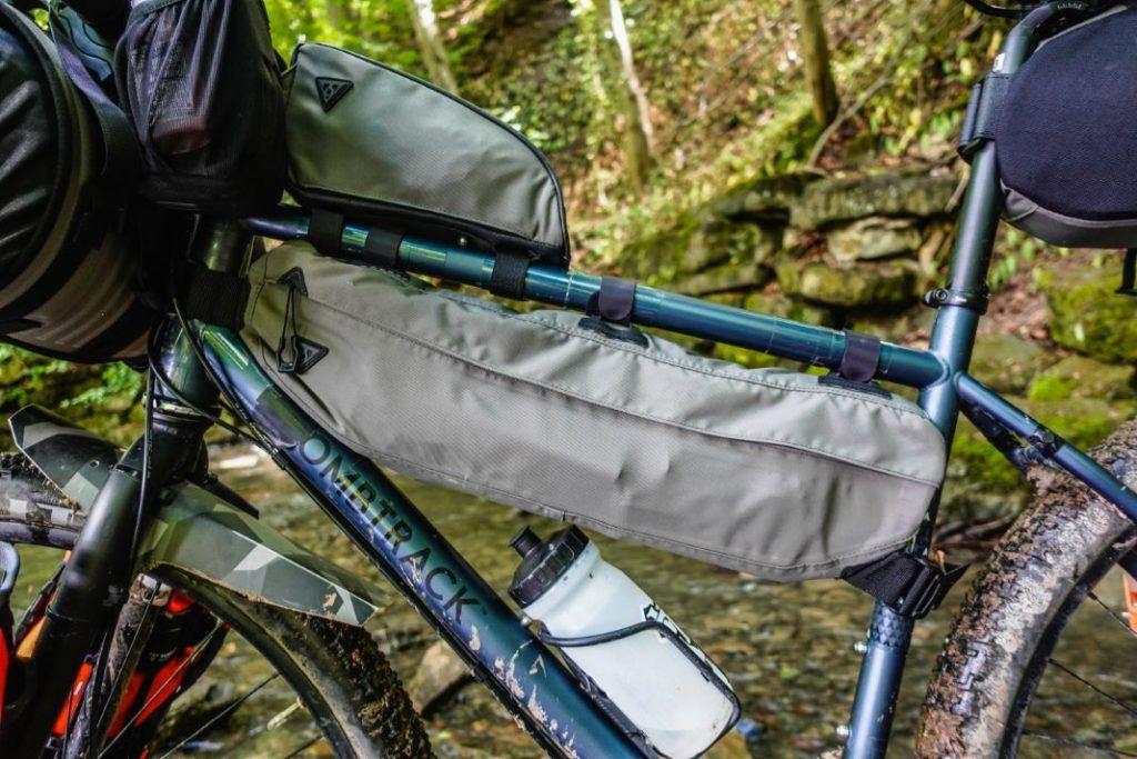 Topeak Midloader Rahmentasche Bikepacking Test Übersicht