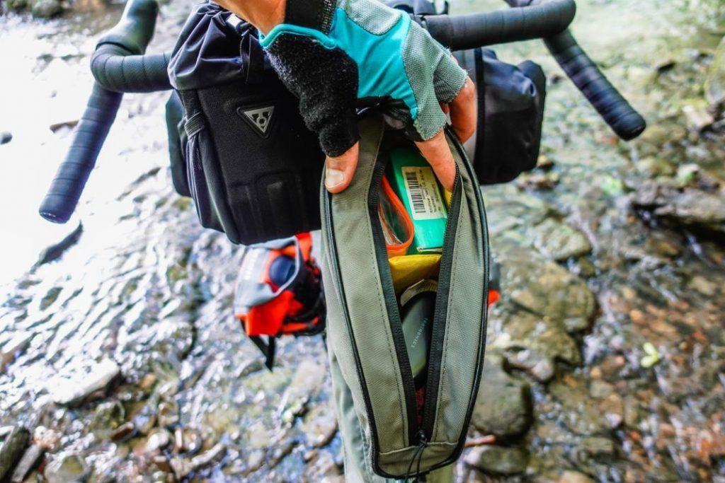 Topeak Toploader Oberrohrtasche Bikepacking Taschen Test Stauraum