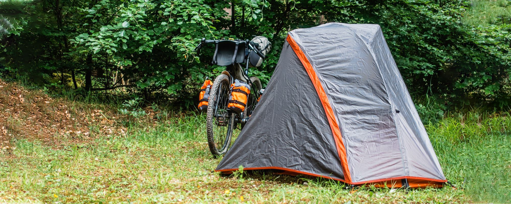 Trekking tent Forclaz Trek 900 Test & Experiences - Does the Ultralight tent prove itself on the Bikepacking Trans Germany?