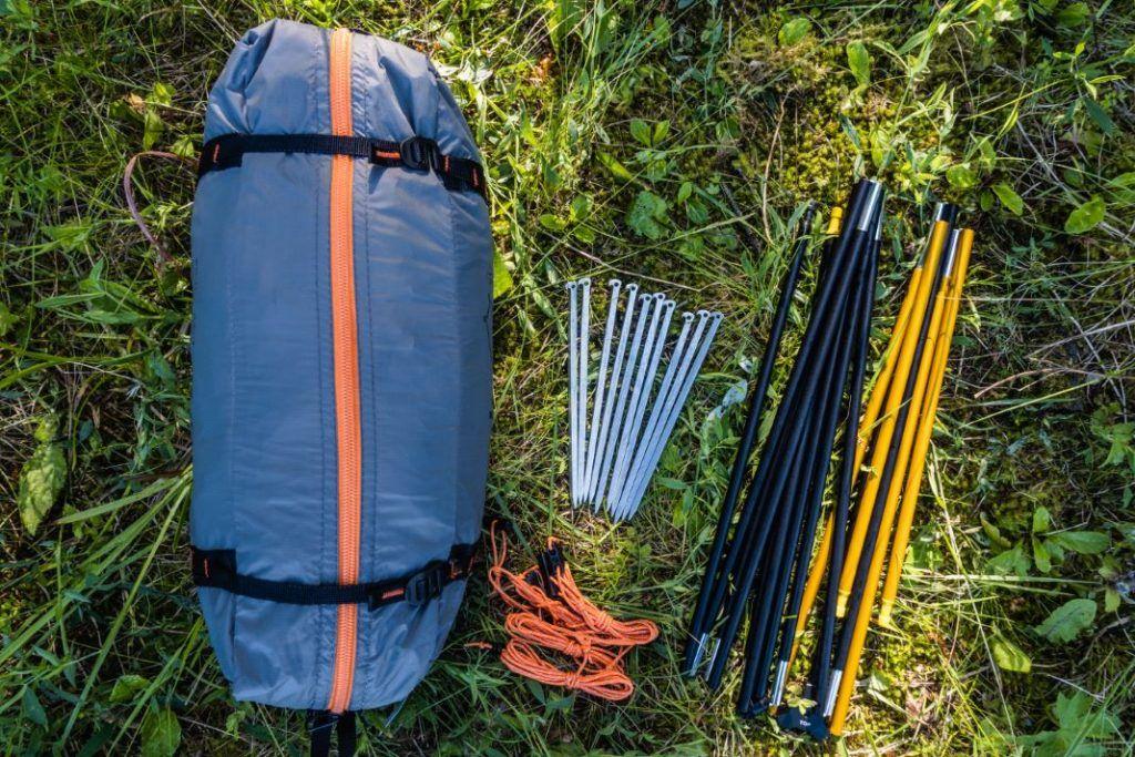 Trekking Zelt kleines Packmaß Forclaz Trek 900 Test
