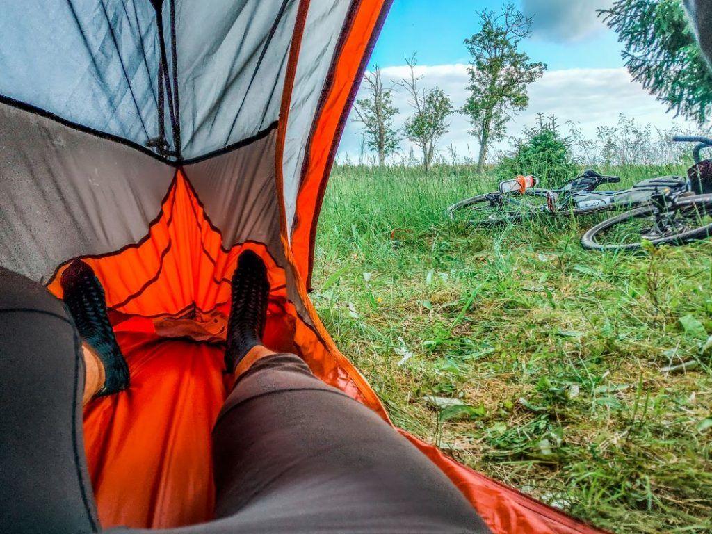 Trekking Zelt unter 2 kg Platz