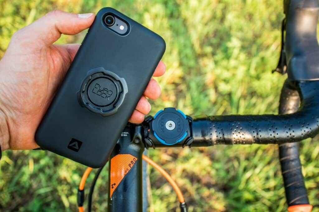 Quad Lock Bike Kit Montage