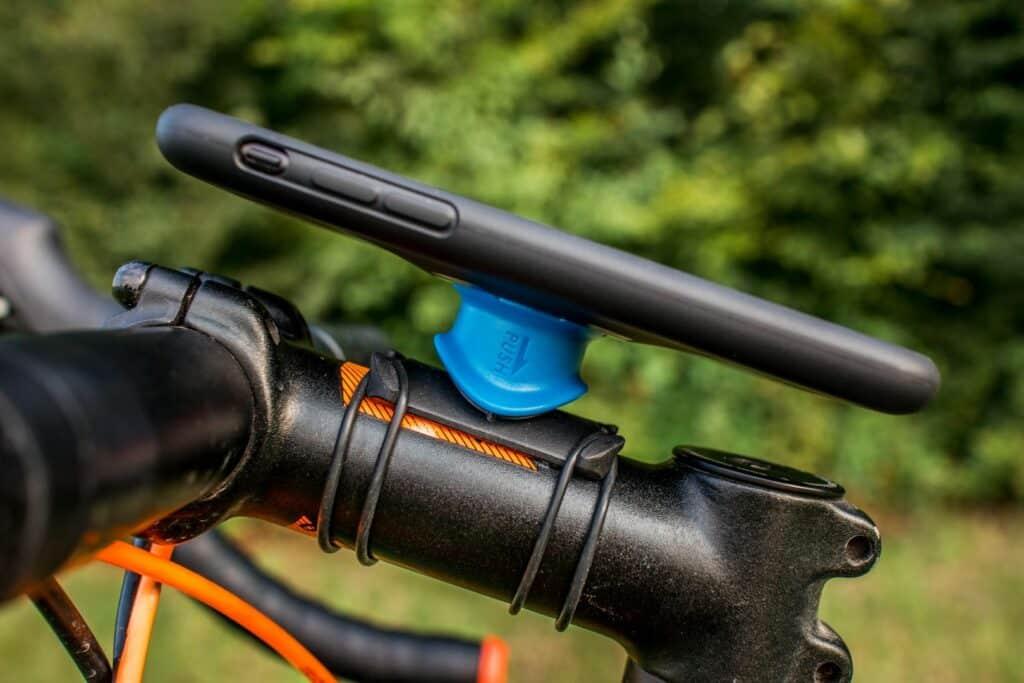 Quad Lock Test Fahrradhalterung Bike Kit